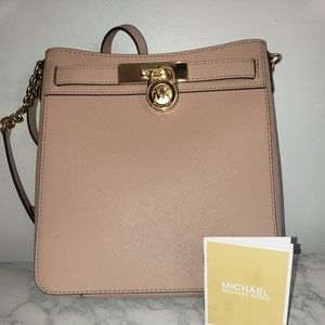 Authentic Michael Kors Hamilton Crossbody Bag